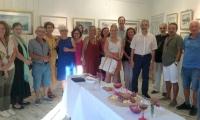 Suluboya Ustası Nusret  Topuzoğlunun HGC Art Gallery'de  açtığı sergi yoğun ilgi gördü