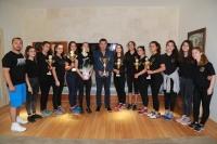 Bodrum Voleybol Spor Kulübü'nden başkana teşekkür