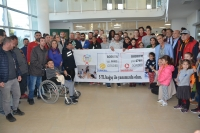 Galatasaray Kadın  Basketbol Takımı Bodrum  Sağlık Vakfı'nı ziyaret etti