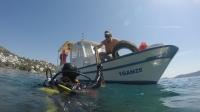 Deniz Dibi Temizliği Türkbükü'nde devam etti