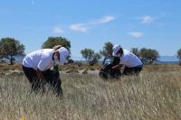 Dünya Çevre Günü'nde Çatal Ada'da temizlik