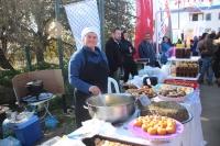 Bodrum'daki hasat şenliğinde mandalinadan yapılan ürünler ilgi gördü
