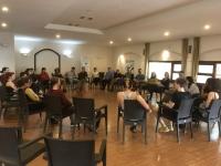 10 ülkeden 30 gönüllü genç çevre projesi için Bodrum'da bir araya geldi.