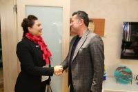 CHP Bodrum Kadın Kolları Yeni  Yönetimi Başkan Kocadon'u ziyaret etti