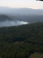 3 hektar ormanlık alan zarar gördü
