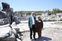 Cumhurbaşkanı Erdoğan'dan Stratonikeia Antik Kenti'ne ziyaret