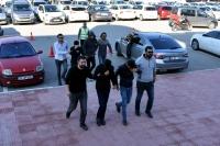 Gözaltına alınan 4 zanlı tutuklandı